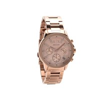 Armani Exchange AX4326 Rose Gold Plated Multi Dial Bracelet Watch - W6244