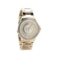 Armani Exchange AX4321 Gold Plated Stone Set Bracelet Watch - W6263