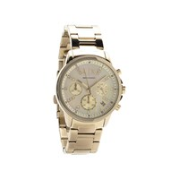 Armani Exchange AX4327 Gold Plated Chronograph Bracelet Watch - W6266