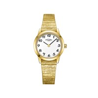 Rotary LB00762 Gold Plated Expanding Bracelet Watch - W6303