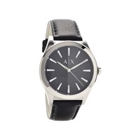 Armani Exchange AX2323 Black Leather Strap Watch - W6545
