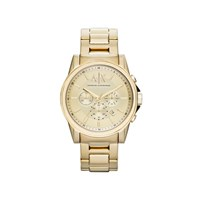 Armani Exchange AX2099 Gold Plated Chronograph Bracelet Watch - W6591