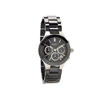 DKNY NY4914 Chambers Chronograph Black Ceramic Bracelet Watch - W6762