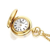 Jean Pierre L603P Gold Plated Pendant Watch - W7588