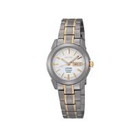 Seiko SXA115P1 Titanium Two Tone Bracelet Strap Watch - W7916