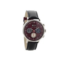 Ted Baker TE10024798 Chronograph Black Leather Strap Watch - W82100