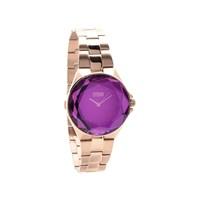 Storm 47254/P Crystana Rose Gold Purple Bracelet Watch - W8705