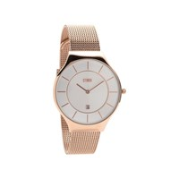 Storm Reese Rose Gold Mesh Bracelet Watch - W87125