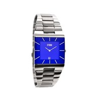 Storm 47195B Omari XL Lazer Stainless Steel Blue Dial Bracelet Watch - W8716