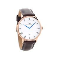 Daniel Wellington 1103DW Dapper Bristol Brown Leather Strap Watch - W8842