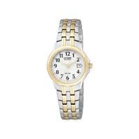 Citizen EW1544-53A Two Tone Eco-Drive Bracelet Strap Watch - W9210