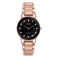 Citizen GA1058-59Q Axiom Eco-Drive Diamond Set Bracelet Watch - W9227