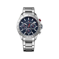 Tommy Hilfiger 1791228 Hudson Stainless Steel Chronograph Bracelet Watch - W9539