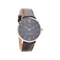 Tommy Hilfiger 1710352 James Stainless Steel Brown Leather Strap Watch - W9570