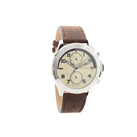 Tommy Hilfiger 1791344 Hudson Chronograph Brown Leather Strap Watch - W9581
