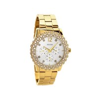 Guess W0335L2 Dazzler Gold Plated Stone Set Bracelet Watch - W9805