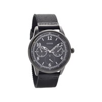 Guess W0863G3 Aviator Black Ion Plated Fabric Strap Watch  W9851