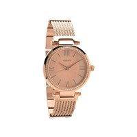 Guess W0638L4 Soho Rose Gold Plated Bangle/Bracelet Watch - W9871