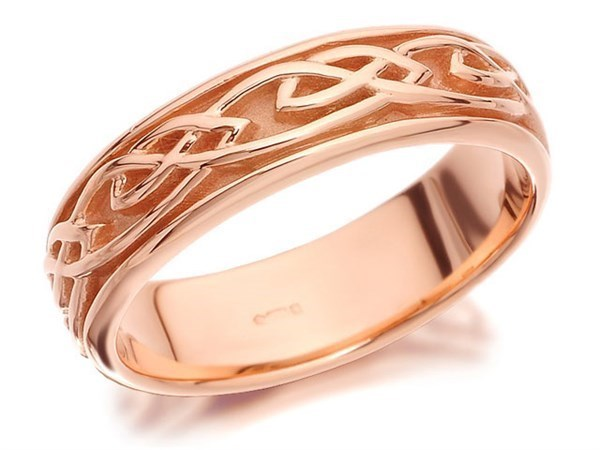 Clogau 9ct Rose Gold Eternal Love Ring - 5mm - Size T Only - Z5069