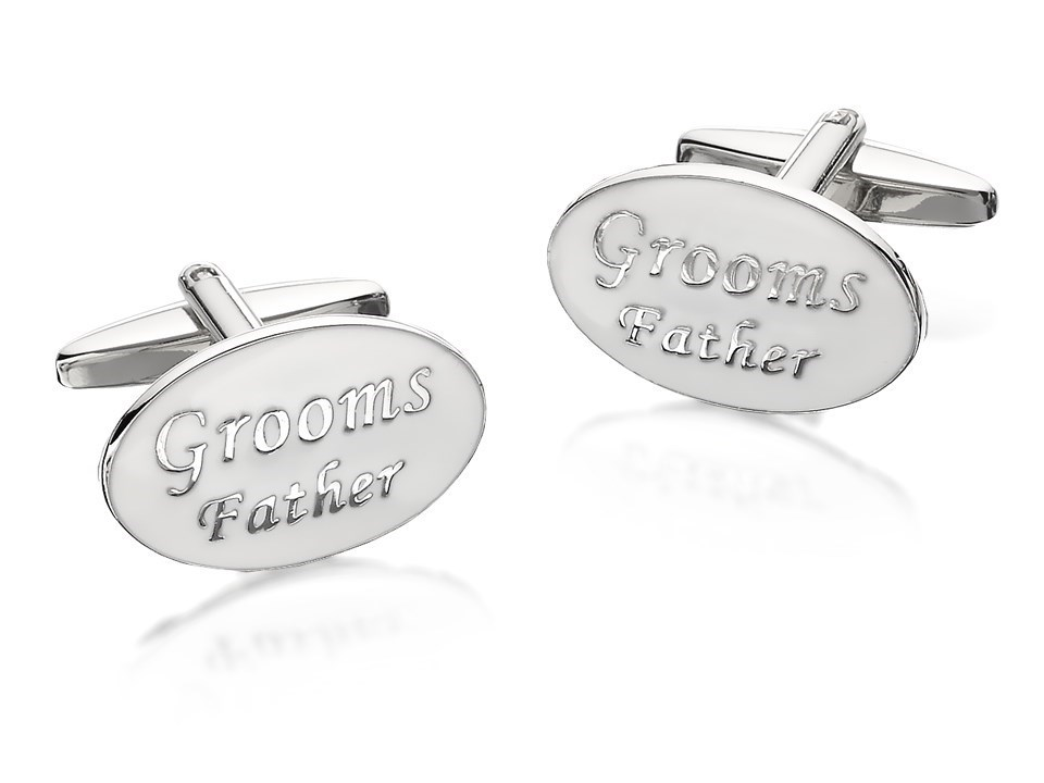 F Hinds Wedding Gifts : Father Of The Groom Cufflinks - A5365 F.Hinds Jewellers