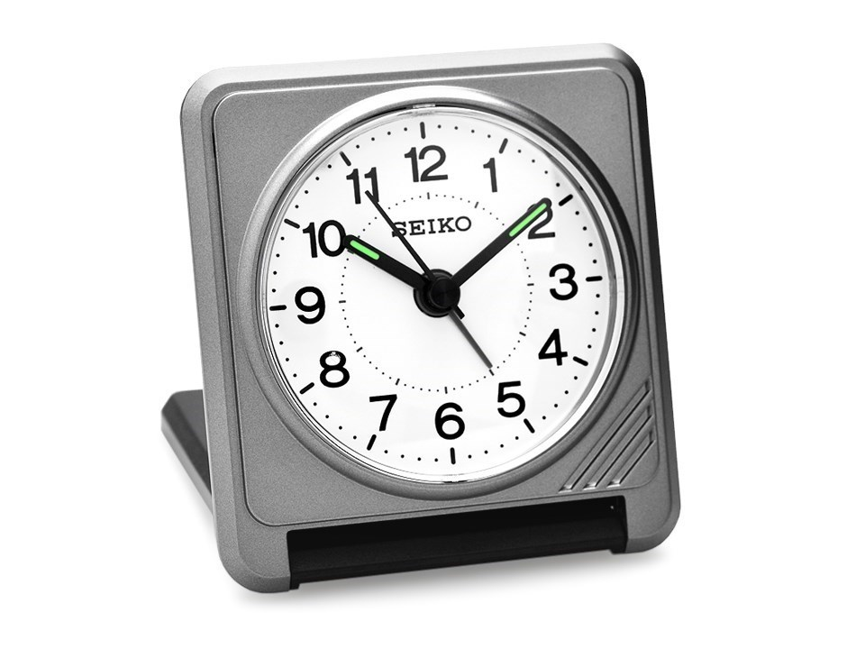 Seiko Folding Travel Alarm Clock C0506 FHinds Jewellers