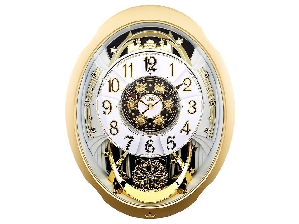 Rhythm 4mh842wd18 Marvellous Melody Wall Clock C5913 F