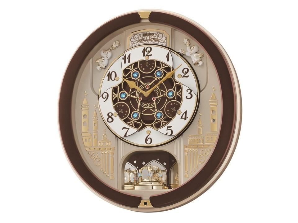 seiko qxm291b melodies in motion wall clock c5942 f