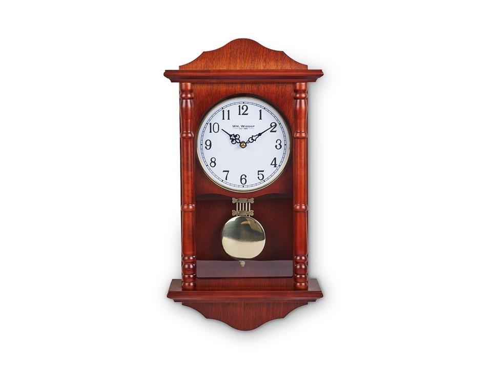 Widdop Short Pendulum Wooden Wall Clock C7122 F Hinds