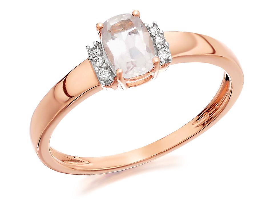 smoky ring wedding rings quartz cushion topaz shr cut diamond carat and