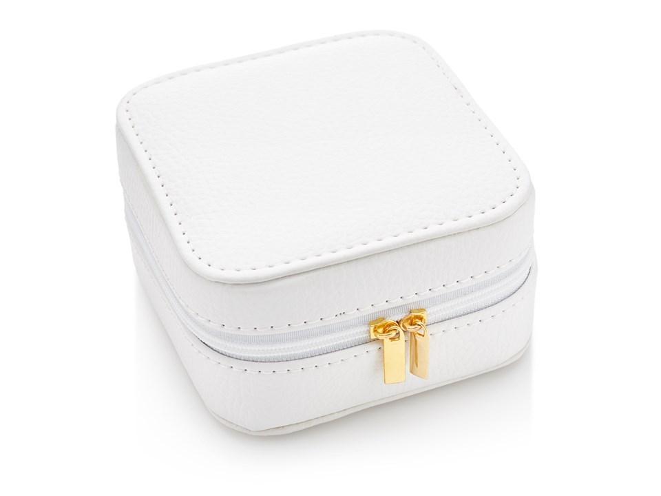Sophia White Travel Jewellery Box P5839