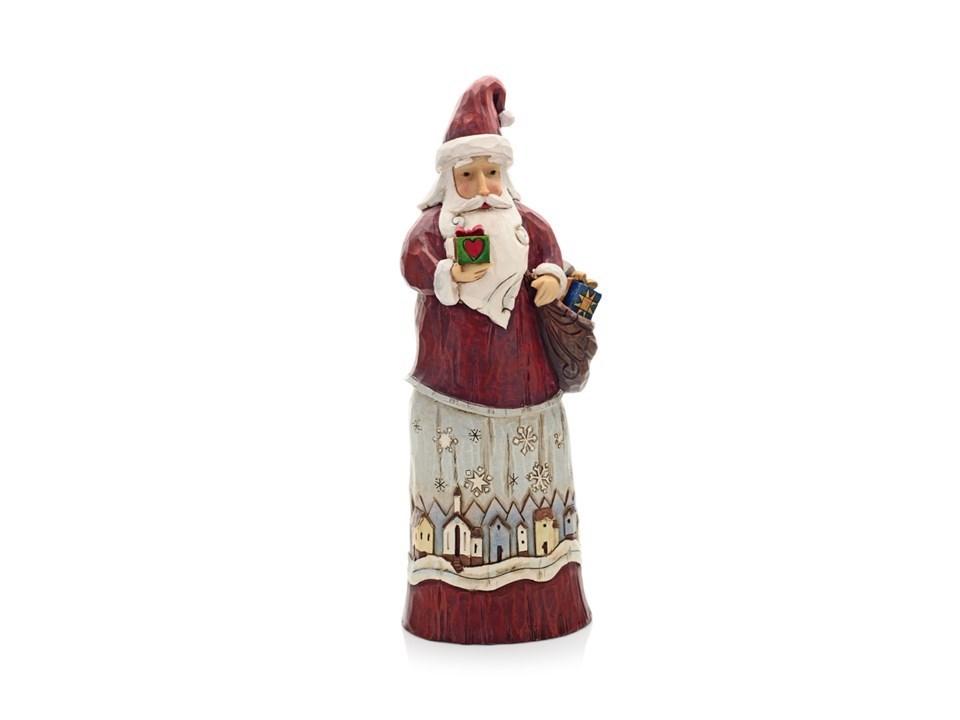 Jim shore folklore santa christmas figurine p6149 f.hinds jewellers