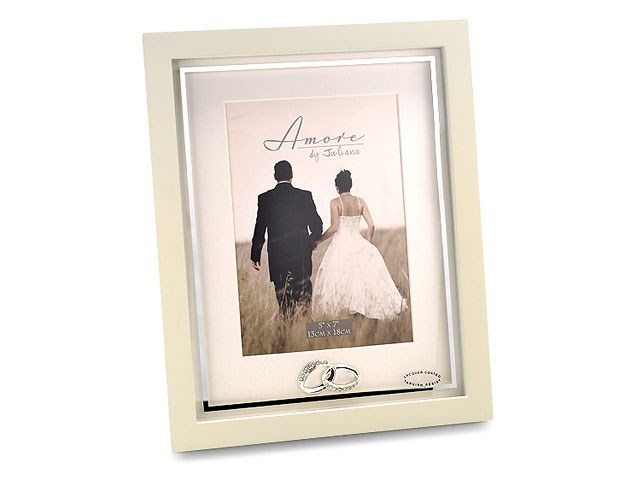 amore wedding photo frame p7186 fhinds jewellers