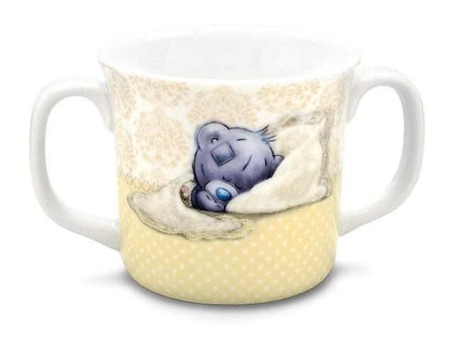 Tatty teddy porcelain double handle mug p7571 f hinds for Mug handle ideas