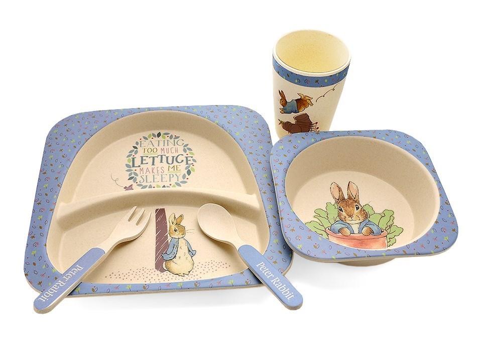 Beatrix Potter Organic Bamboo Dinner Set - P8740  sc 1 st  F.Hinds & Beatrix Potter Organic Bamboo Dinner Set - P8740 | F.Hinds Jewellers