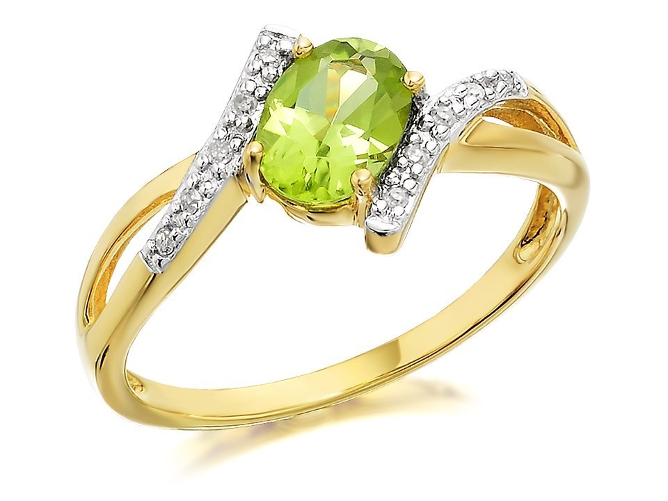 9ct gold and peridot ring r0420 f hinds jewellers
