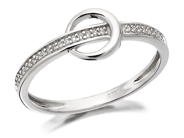 9ct white gold belt and buckle ring r2111 f