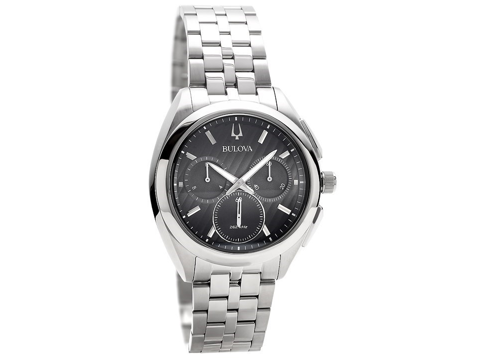 2eca2c95d Default Image Bulova Curv 96A186 Stainless Steel Chronograph Bracelet Watch  - W09103Alternative Image1