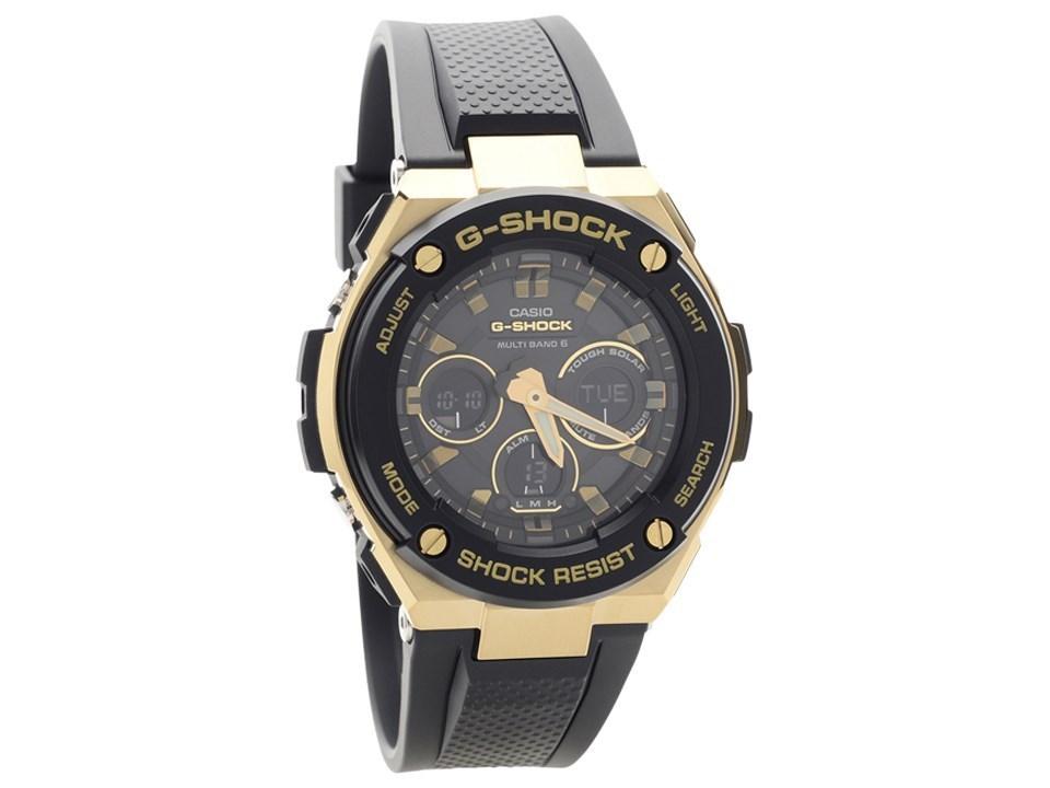 Casio Gst 300g 1a9er G Shock G Steel Solar Radio Controlled Watch