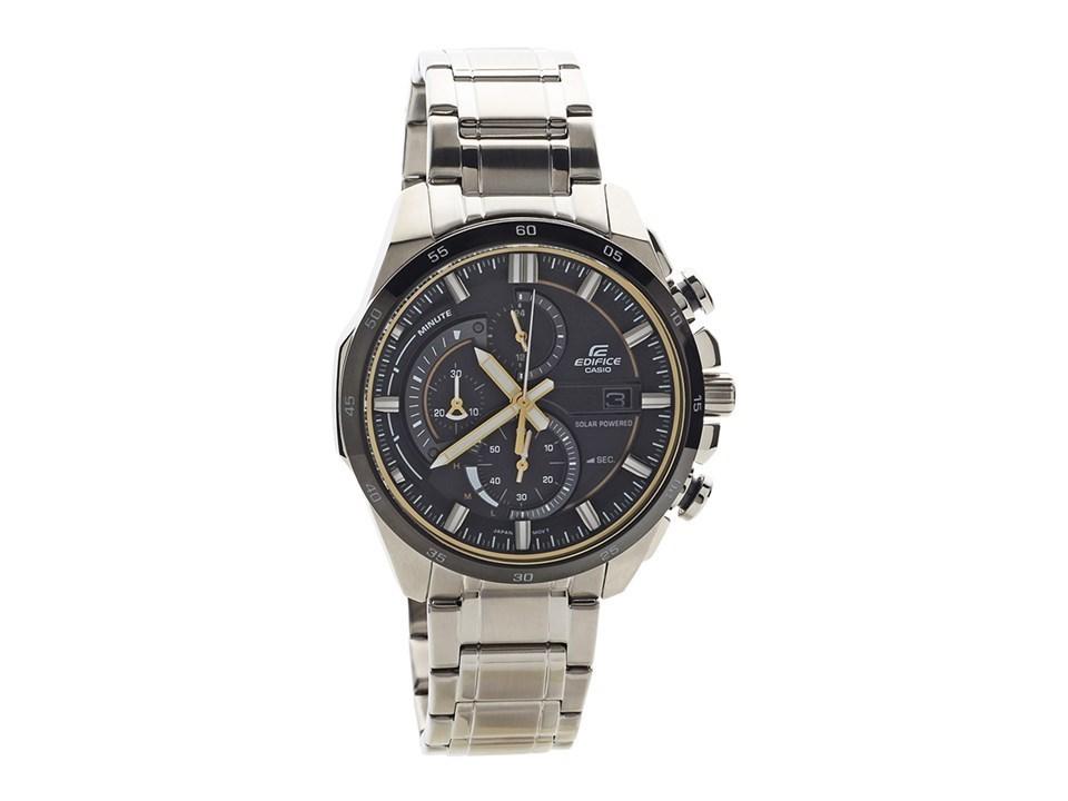 Casio EQS-600DB-1A9UEF Edifice Solar Chronograph Bracelet Watch ... cf1b873aeb9b