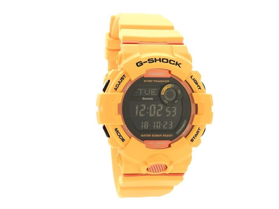 Casio Gbd 800 4er G Shock Yellow Resin Strap Watch W1779