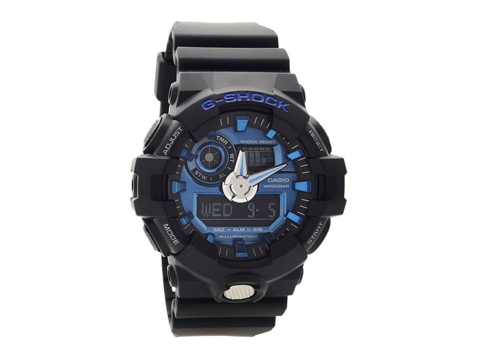 new concept ac1a5 cb3c8 Casio GA-710-1A2ER G-Shock World Time Resin Strap Watch - W1787