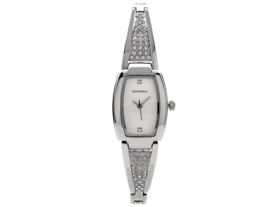 Sekonda 2116 27 Stainless Steel Stone Set Bracelet Watch W