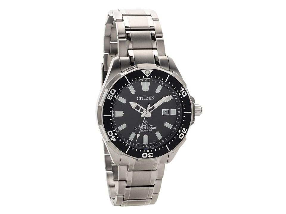 Citizen bn0200 56e titanium eco drive diver 39 s watch w3930 f hinds jewellers - Citizen titanium dive watch ...