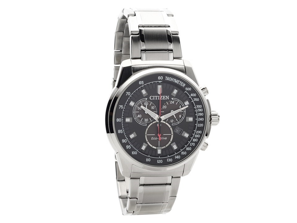 Citizen At2370 55e Eco Drive Chronograph Bracelet Watch W3942