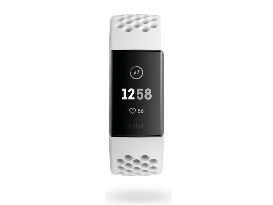 Fitbit Charge 3 FB410GMWT-EU White Fitness Tracker - Special Edition - W4777