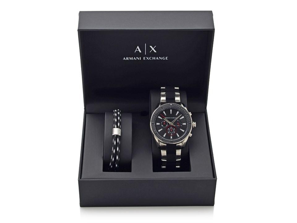 8a8a6703 Armani Exchange AX7106 Watch And Bracelet Gift Set - W65133