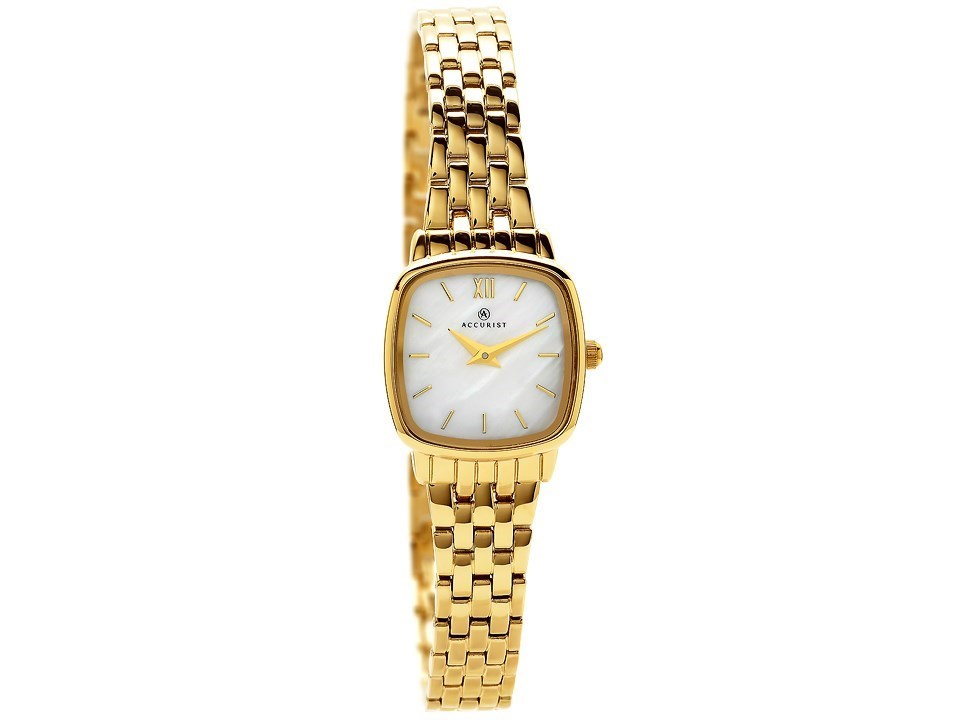 Accurist 8068 London Gold Plated Bracelet Watch W7165