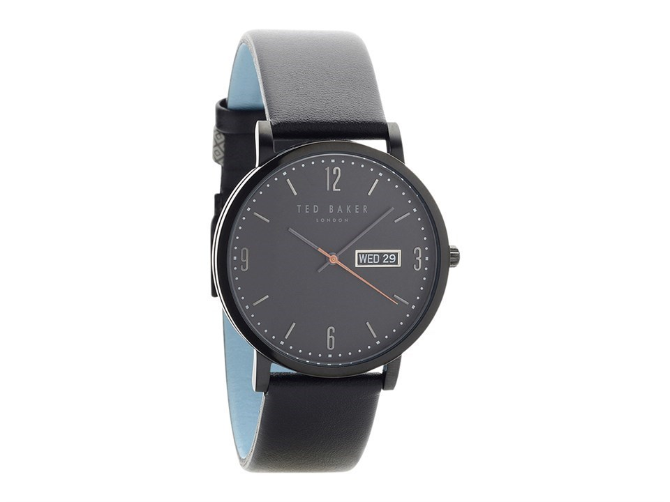 efba2abbe706 Default Image Ted Baker TE15196012 Grant Black Ionic Finish Black Leather  Strap Watch - W82160Alternative ...