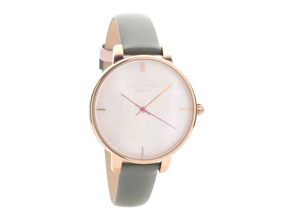 c38ffd002 Default Image Ted Baker TEC0025002 Kate Rose Gold Plated Grey Leather Strap  Watch - W82169Alternative ...