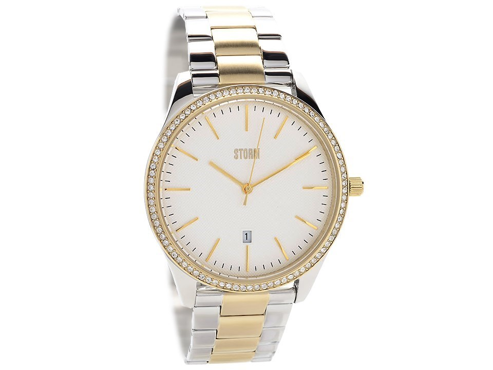 Storm 47290 GD Crystalex Two Tone Swarovski Crystal Bracelet Watch ... 2c145d100d1